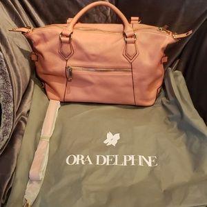 Ora delphine leather handbag